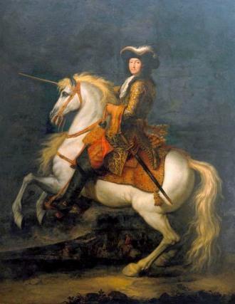 René-Antoine_Houasse_-_Retrato_equestre_de_Luís_XIV,_Rei_de_França