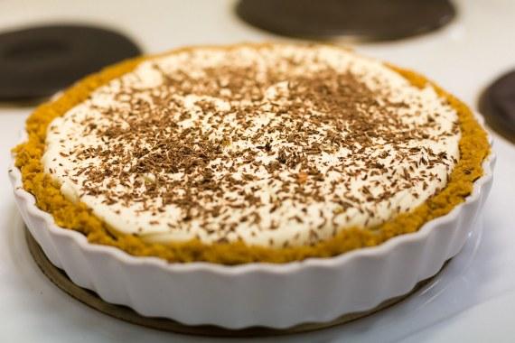 Mmm... Banoffee pie.