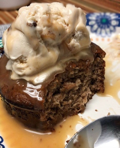 Homemade Sticky Toffee Pudding