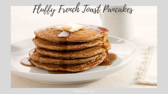 Fluffy French Toast Pancakes